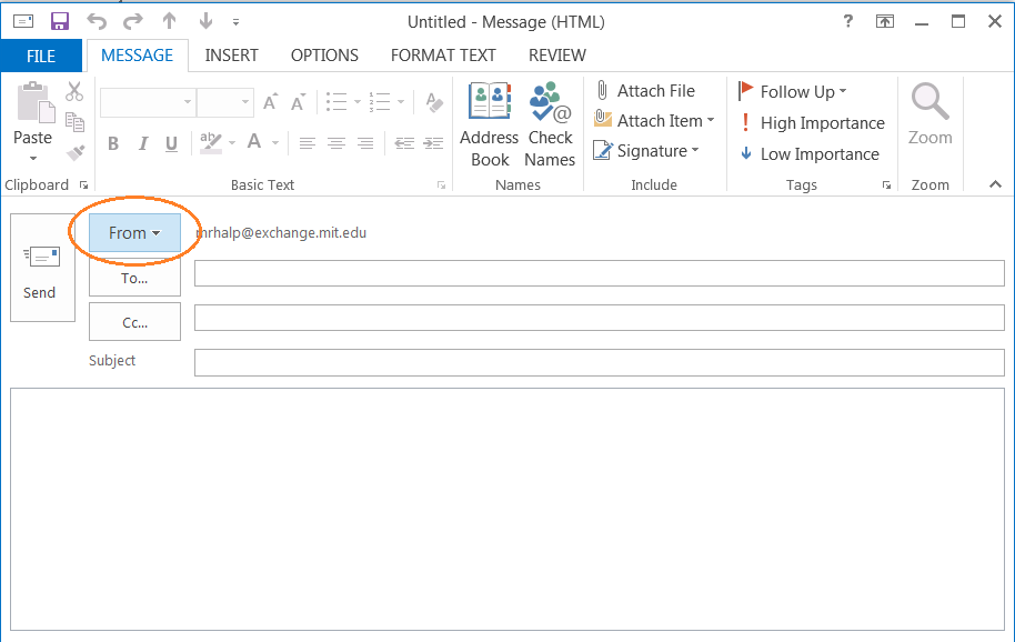 Screenshot 9 of Outlook 2013