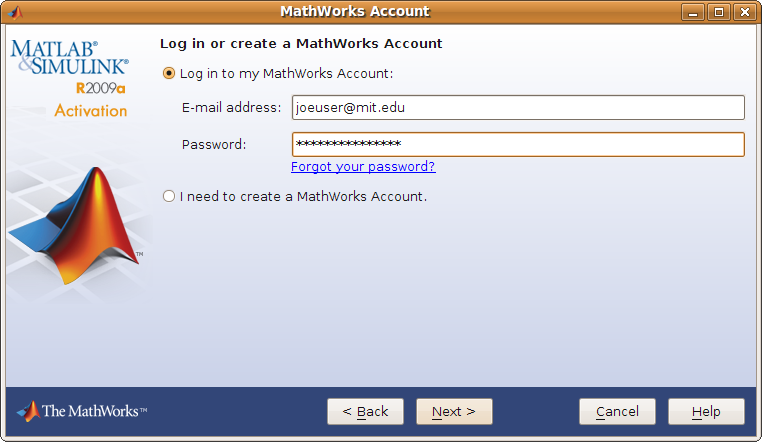 how to get activation key for matlab