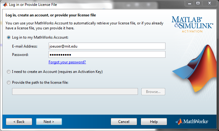 matlab activation key free 2010a