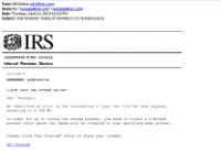 sample phishing email 1