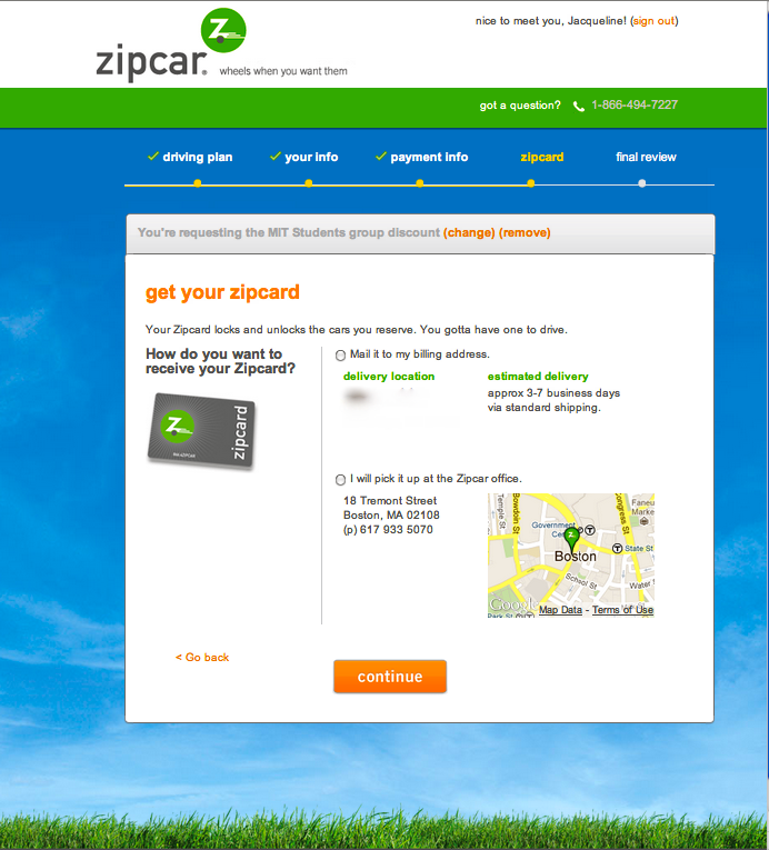 Get your Zipcard