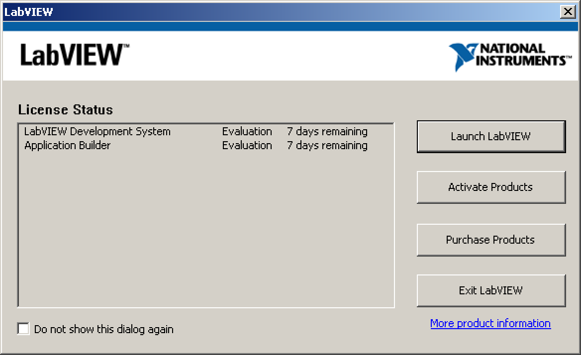 Installing LabVIEW 2013 - Hermes