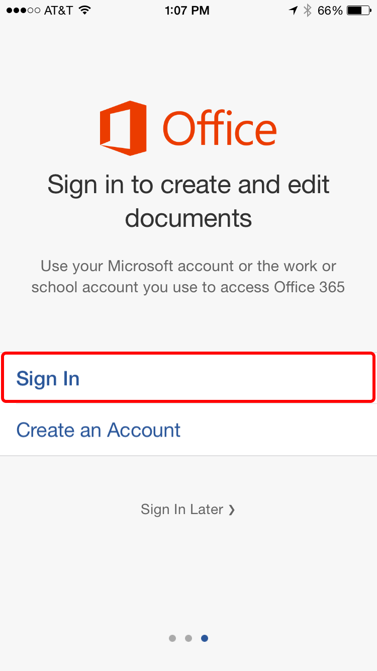 DRAFT Office 365 Mobile Login and Activation for iOS - Hermes