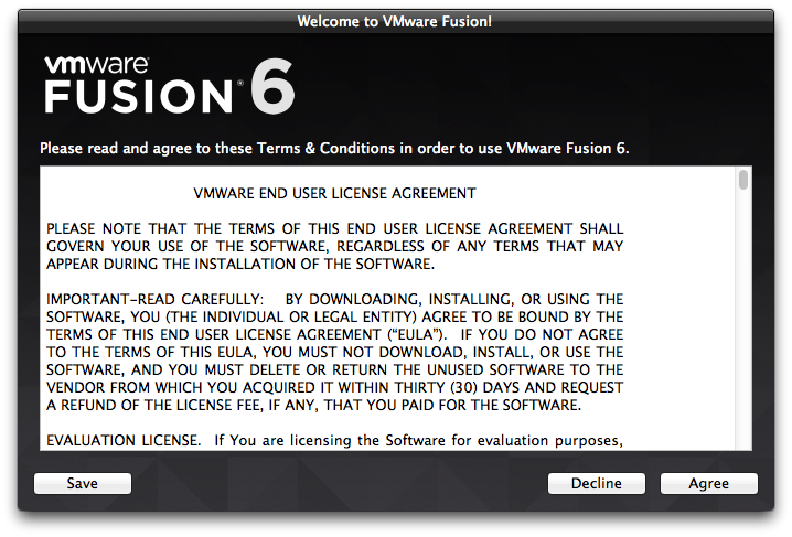Installing VMware Fusion 7 x and Upgrading Virtual Machines - Hermes