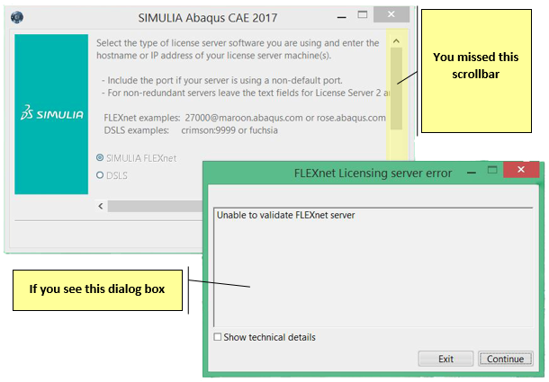 Installing Abaqus, Isight, Tosca, fe-safe 2017 to run off