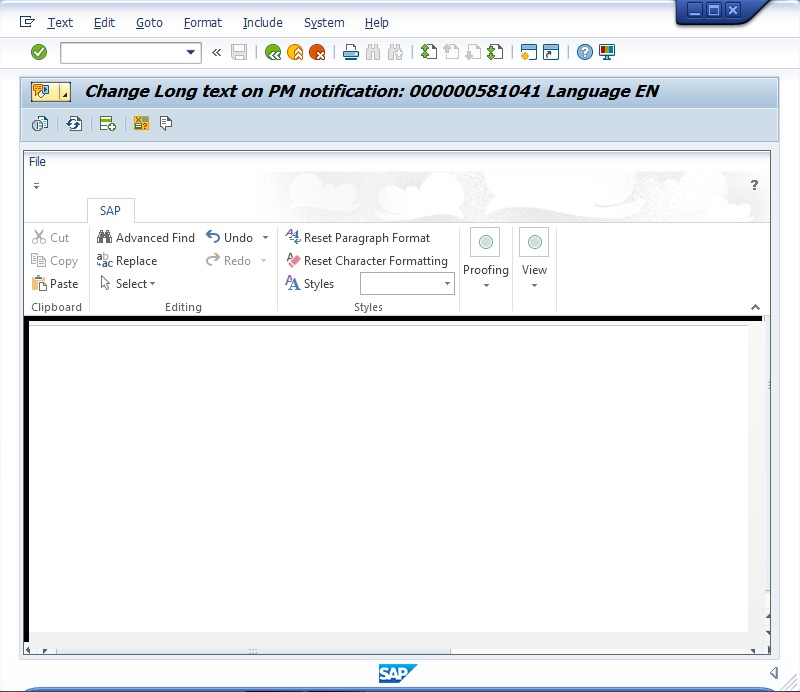 SAPgui Long Text Editor - Using MS Word editor or Text-Based