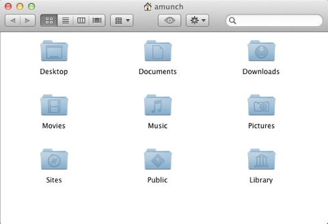 Library Now Visible in the Home Folder