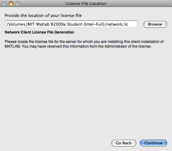 How do I install MIT Student MATLAB on Mac OS X? - Hermes